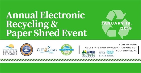 Annual Recycling Event Graphic